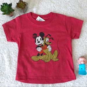 New Disney Mickey Mouse Tee Shirt Size 2T Unisex